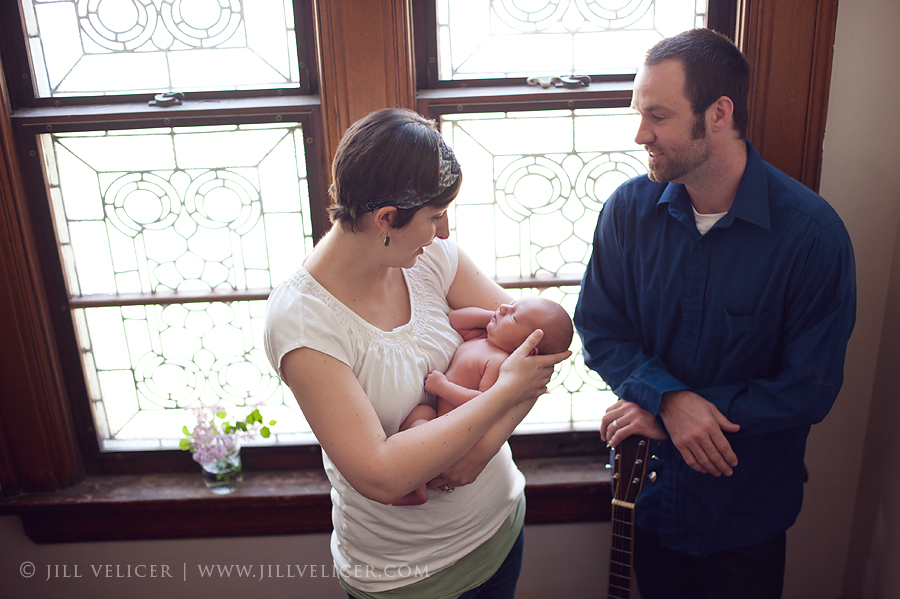 natural light baby photo session milwaukee wisconsin